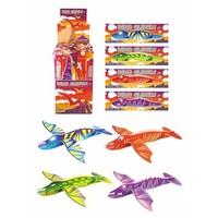 Huismerk Uitdeelcadeautjes - Fighter Gliders - Model: Dinosaurussen in Display (48 stuks)