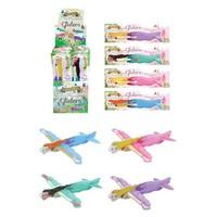 Huismerk Uitdeelcadeautjes - Fighter Gliders - Model: Princess in Display (48 stuks)