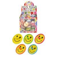 Huismerk Uitdeelcadeautjes - Smiley Tollen in Traktatiebox (60 Stuks)
