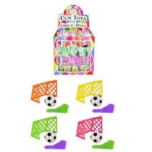 Huismerk Uitdeelcadeautjes - Voetbal Goal Spel in Traktatiebox (60 Stuks)