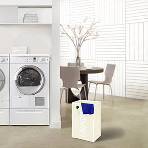 Jago Wasmand - Laundry Wit-Beige | Afmeting: 54 x 24 x 32 cm
