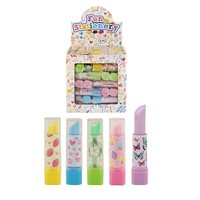 Huismerk Uitdeelcadeautjes - Lipstick Gummen in Traktatiebox (84 stuks)