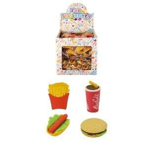 Huismerk Uitdeelcadeautjes - Mix Snack / Fast Food Gummen in Traktatiebox (108 stuks)