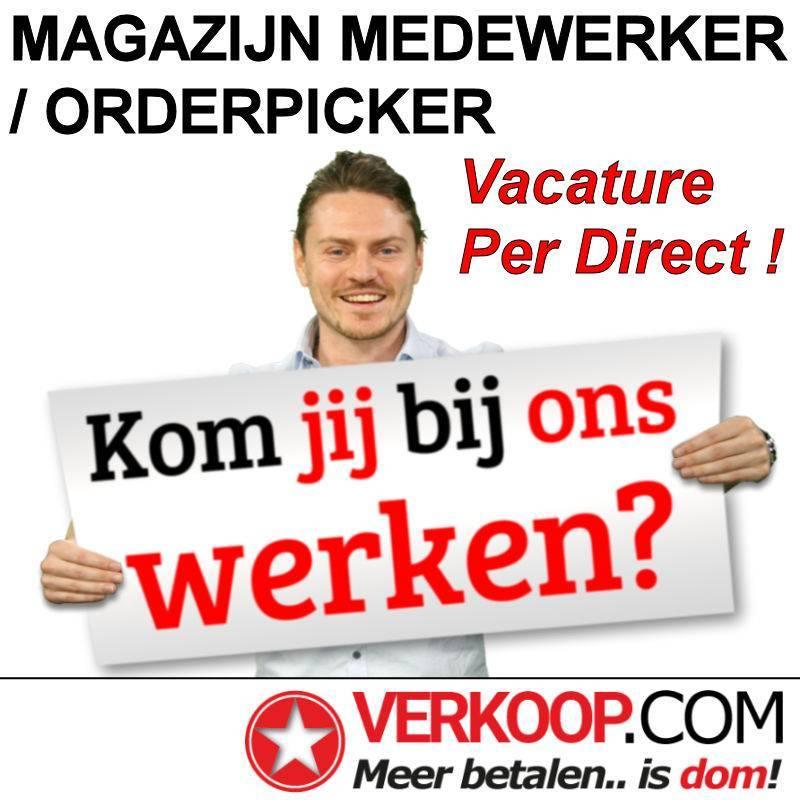 VACATURE - PER DIRECT ! FULLTIME MAGAZIJN MEDEWERKER / ORDERPICKER te APELDOORN, 40 Uur