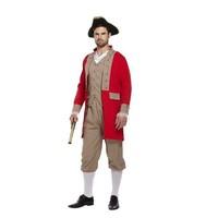 Henbrandt VOLWASSENEN 3-Delig Napoleon 18e eeuw Kostuum   Edele Man Kostuum   Franse Militair   Carnavalskleding   Verkleedkleding / Feest   Man   One Size Fitts All