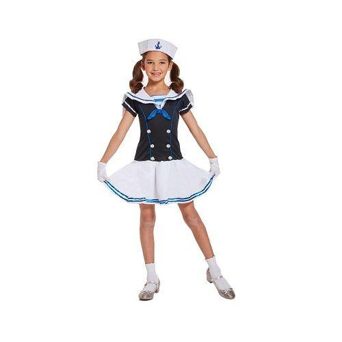 Carnavalskleding Marine Dames.Kinderen Meisje Matrozen Marine Kostuuum Verkleed Kleding