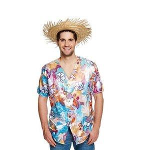 Henbrandt VOLWASSENEN UNISEX HEREN / DAMES Hawaiian shirt | Carnavalskleding | Verkleedkleding | Hawai Feest | Beach Party | Feest Kostuum | Man & Vrouw | ONE SIZE