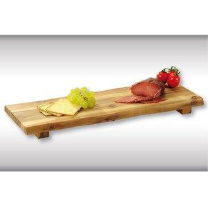 Kesper FSC Acacia Houten Grote Snijplank met voet | Snij plank | Eten presenteren |  Afm. 53 x 19 x 4  cm