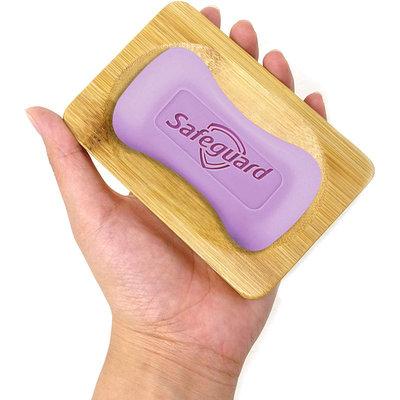 Decopatent Bamboe Zeepbakje - Houten zeephouder voor in de douche, badkamer of keuken - zeepschaaltje - Decopatent®