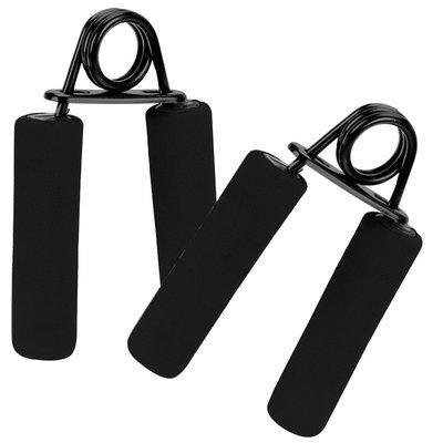Decopatent PRO Deluxe 2-Delige Handgrips Fitness Trainer - Handknijper Handtrainer Set - Onderarm spieren Trainer - Knijphalter Fitness Polstrainer - Thuis Fitness Grip Trainer - Fitness krachttraining voor pols / onderarmen en handen