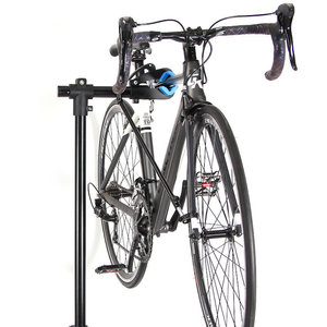 Decopatent Reparatie Montagestandaard Fiets - 360° Draaibaar, Verstelbaar + Gereedschapsbakje en stuurhouder - Fiets montagesteun - Fiets reparatie montagestandaards - Fiets montage reparatie standaard - Voor Racefiets MTB Mountainbike fietsen - Decopatent®