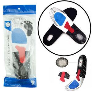 Decopatent Comfortabele Foam SPORT Inlegzooltjes voor Indoor & Outdoor Sport - Schokdempend - Inlegzooltjes voor tijdens het Sporten - Sport schoenen zooltjes / Inlegzolen - Sport Inlegzool Maat: 40 tm 46 - Heren / Dames - Decopatent®