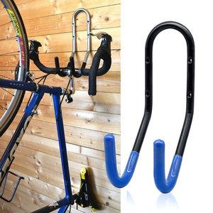 Decopatent Muur Ophangsysteem voor 1 Fiets - Fiets ophangen aan Stuur - Ophang systeem fiets - Fiets Houder muur - Wandmontage -Fiets ophangen aan muur - Ophangbeugel fiets voor Wand montage -Decopatent®