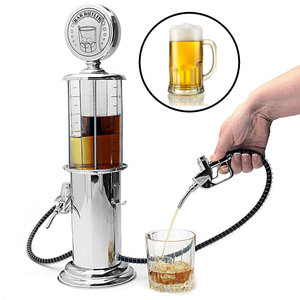 Decopatent Biertap drank dispenser - Bar butler - Tankstation met tap kraantje - Biertoren - Limonadetap - Alcohol Tafeltap