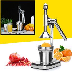 Decopatent Decopatent® Sinaasappelpers handmatig met hendel - Staande Citruspers - Citruspers - Fruitpers - Handmatige Sinaasappel juicer
