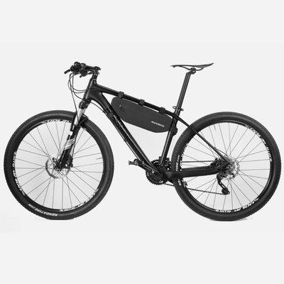 Decopatent Decopatent® PRO Fiets Frametas - Smalle fietstas voor onder fietsframe - Waterdicht - Racefiets - Koersfiets - MTB - Ebike - Fiets