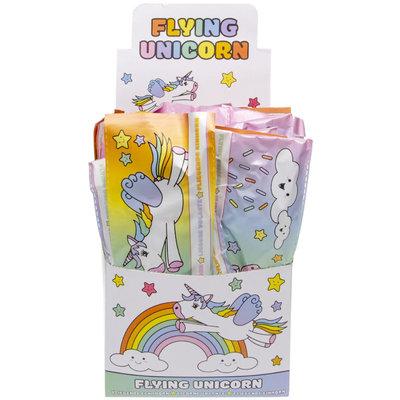 Decopatent Decopatent® Uitdeelcadeaus 48 STUKS Foam Unicorn Vliegtuigen - Traktatie Uitdeelcadeautjes voor kinderen - Speelgoed Traktaties