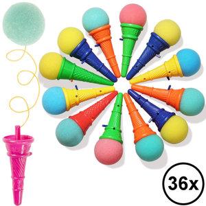 Decopatent Decopatent® Uitdeelcadeaus 36 STUKS Wegschiet ijsjes - Traktatie Uitdeelcadeautjes voor kinderen - Klein Speelgoed Traktaties