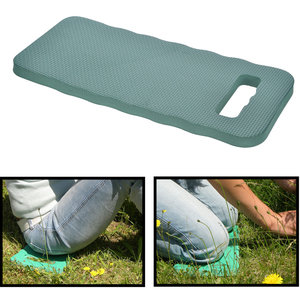 Decopatent Decopatent® Kniekussen tuin - Kniebescherming - Kussen voor onder de knie - Kniemat - Zacht - Groen - 40.5 x 18 x 2 Cm.