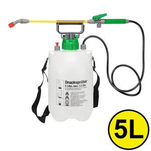 Decopatent Decopatent® Drukspuit 5 liter - Plantenspuit 2.2 Bar - Onkruid druksproeier - Onkruidsproeier - Onkruid spuit voor bestrijden onkruid in tuin