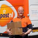 Shipping truck PostNL