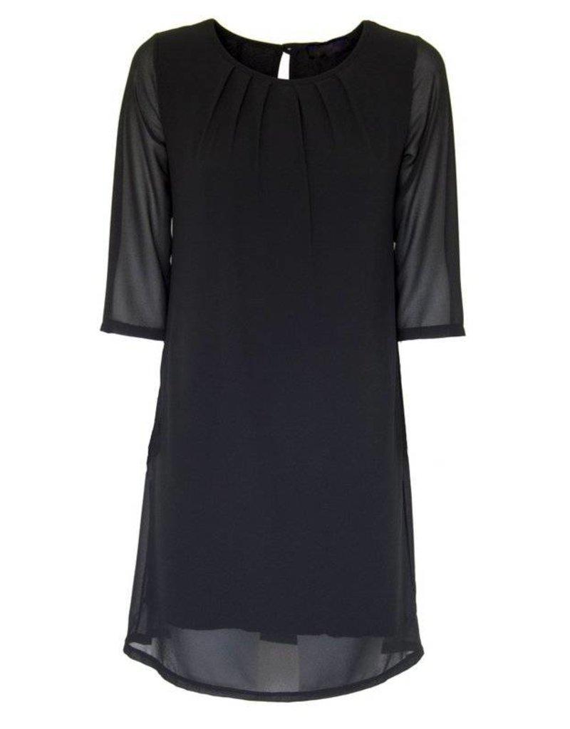 DEMM zwart jurkje
