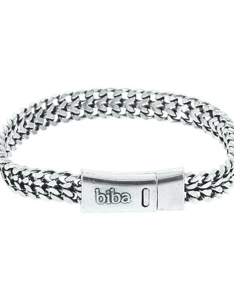 Biba Zilver metalen armband