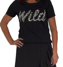 Envy Shirt zwart wild