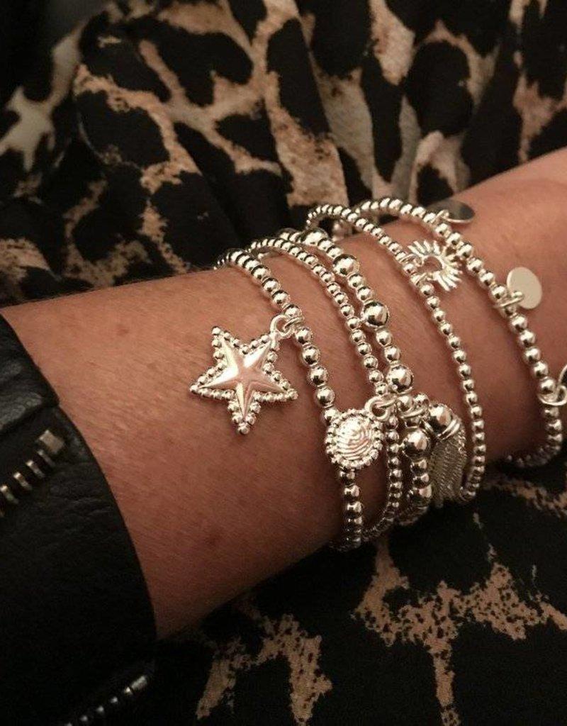 Biba Armband oval zilver