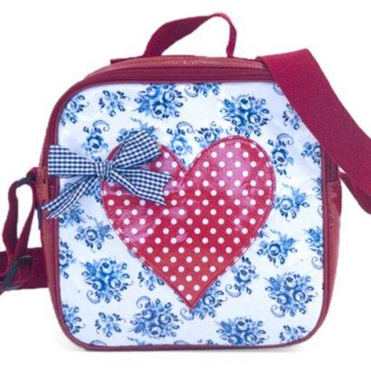 Children Delft Blue bag with zipper