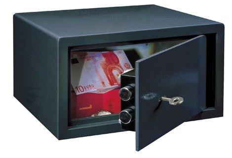 Meubelkluis - Privekluis LE 17 sleutelslot sluiting (Antraciet) - SHOWROOMMODEL