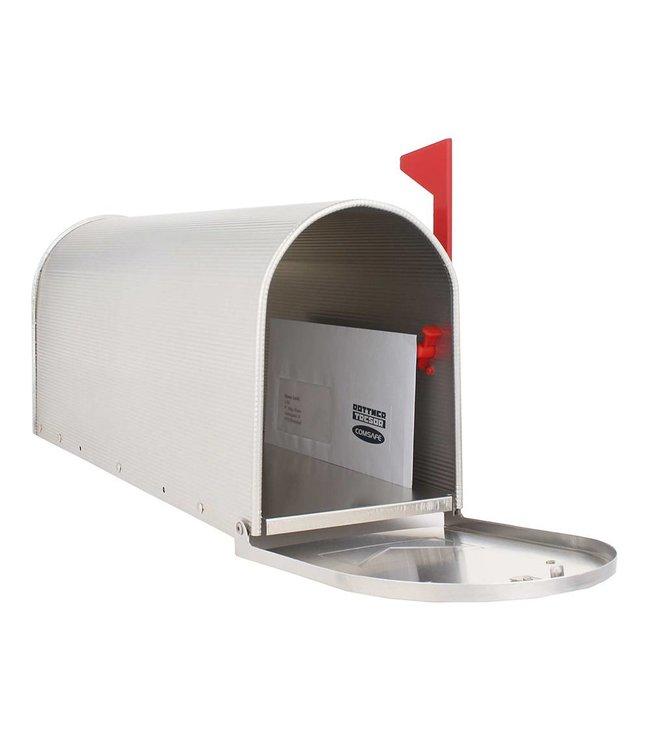 Rottner Tresor Amerikaanse brievenbus / US-MAILBOX - aluminium - Zilver