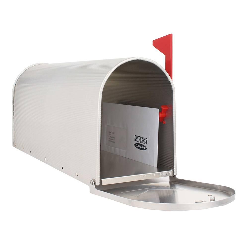 Amerikaanse brievenbus - US-MAILBOX (Zilver) aluminium