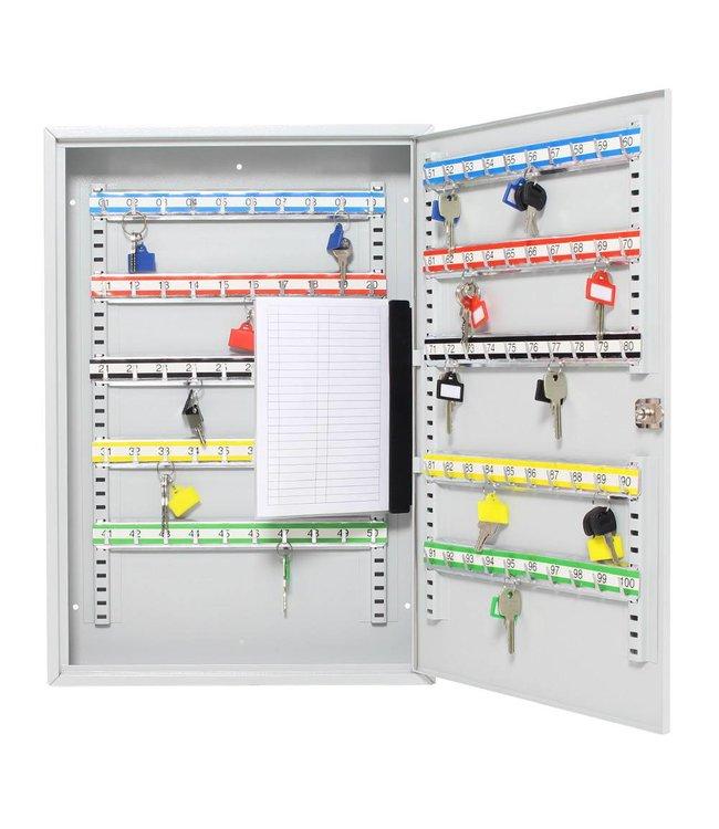 Rottner Tresor S100 sleutelkast voor 100 sleutels - Lichtgrijs