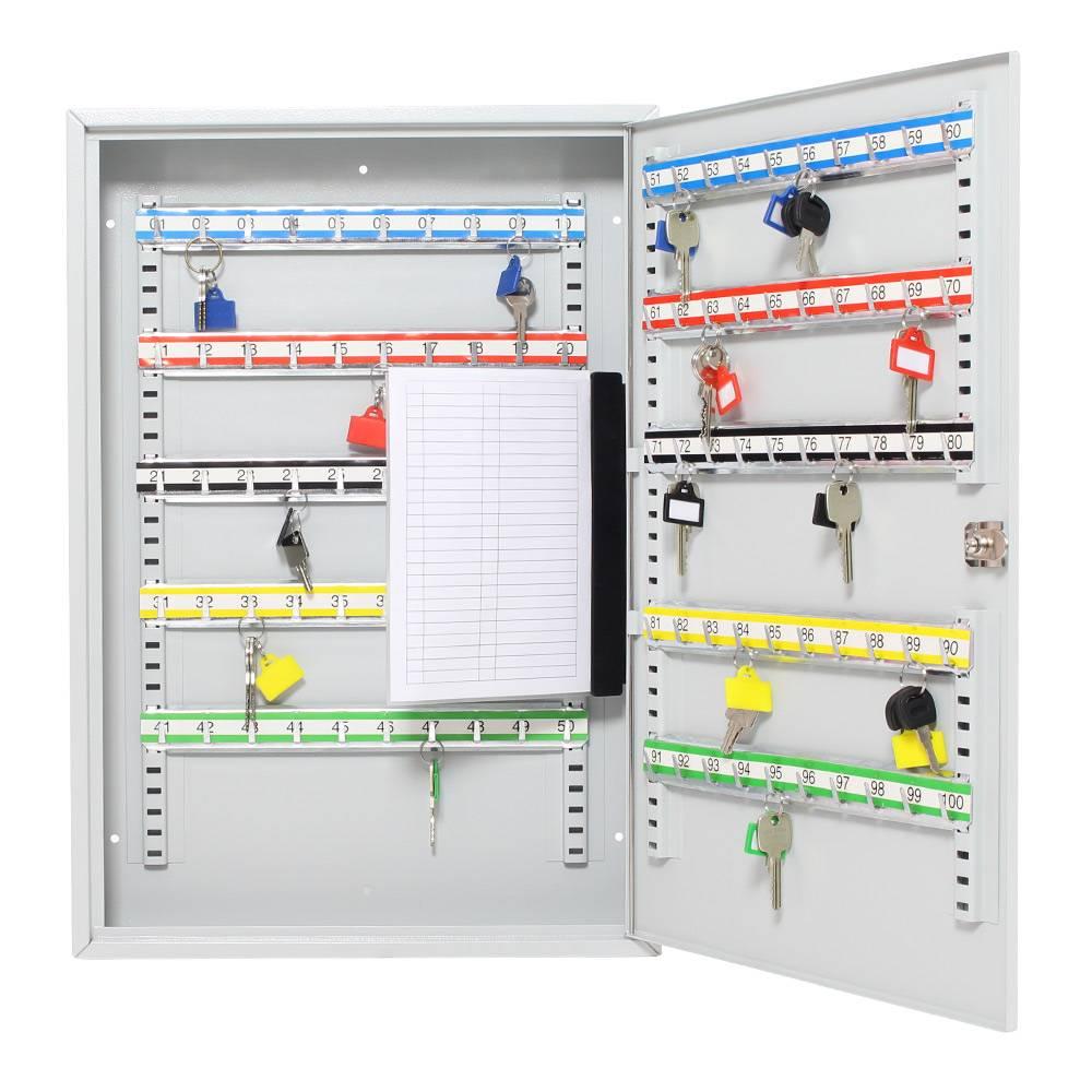 S100 sleutelkast (Lichtgrijs) voor 100 sleutels