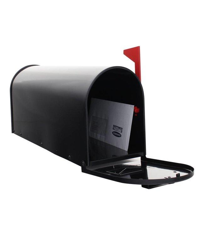 Rottner Tresor Amerikaanse brievenbus / US-MAILBOX (Zwart) aluminium