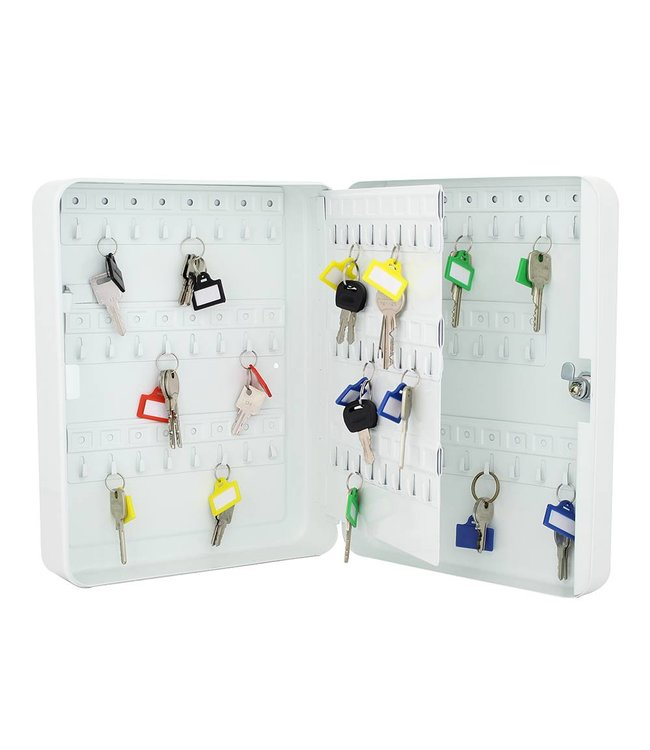 Rottner Tresor TS93 sleutelkast voor 93 sleutels - Wit