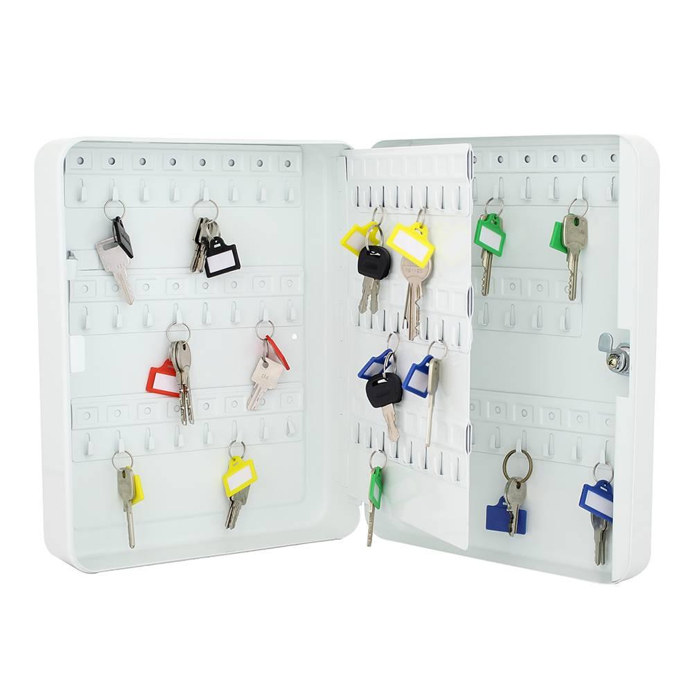 TS93 sleutelkast voor 93 sleutels - Wit