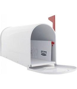 Rottner Tresor Amerikaanse brievenbus / US-MAILBOX - aluminium - Wit