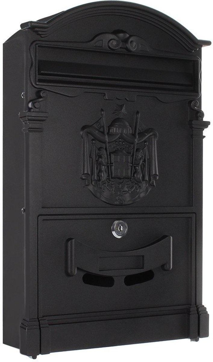 Engelse brievenbus Ashford - Zwart