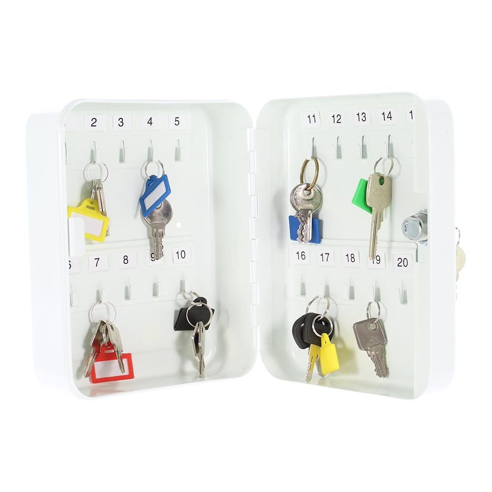 TS20 sleutelkast voor 20 sleutels - Wit