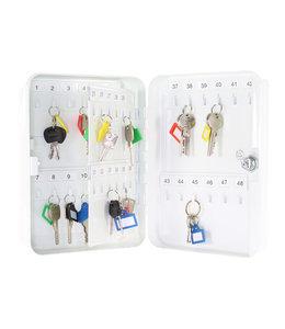 Rottner Tresor TS48 sleutelkastje voor 48 sleutels - Wit