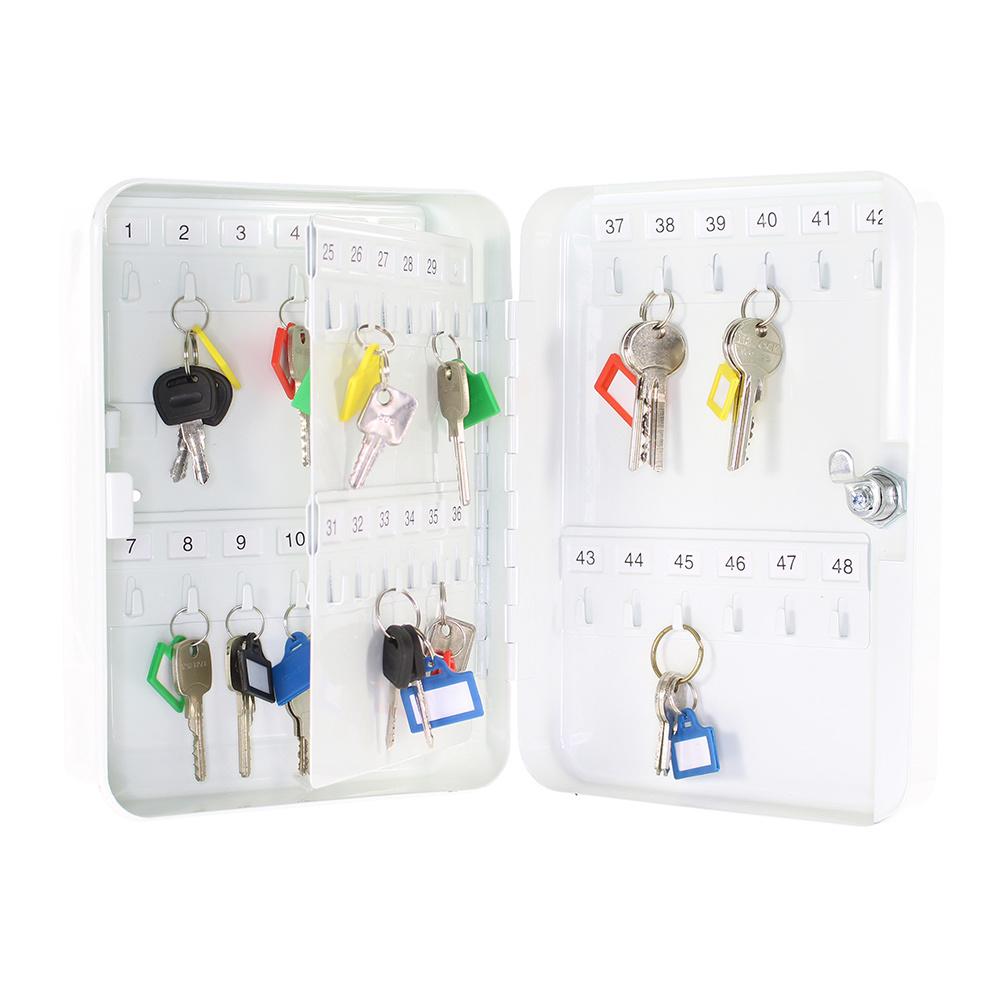 TS48 sleutelkast voor 48 sleutels - Wit