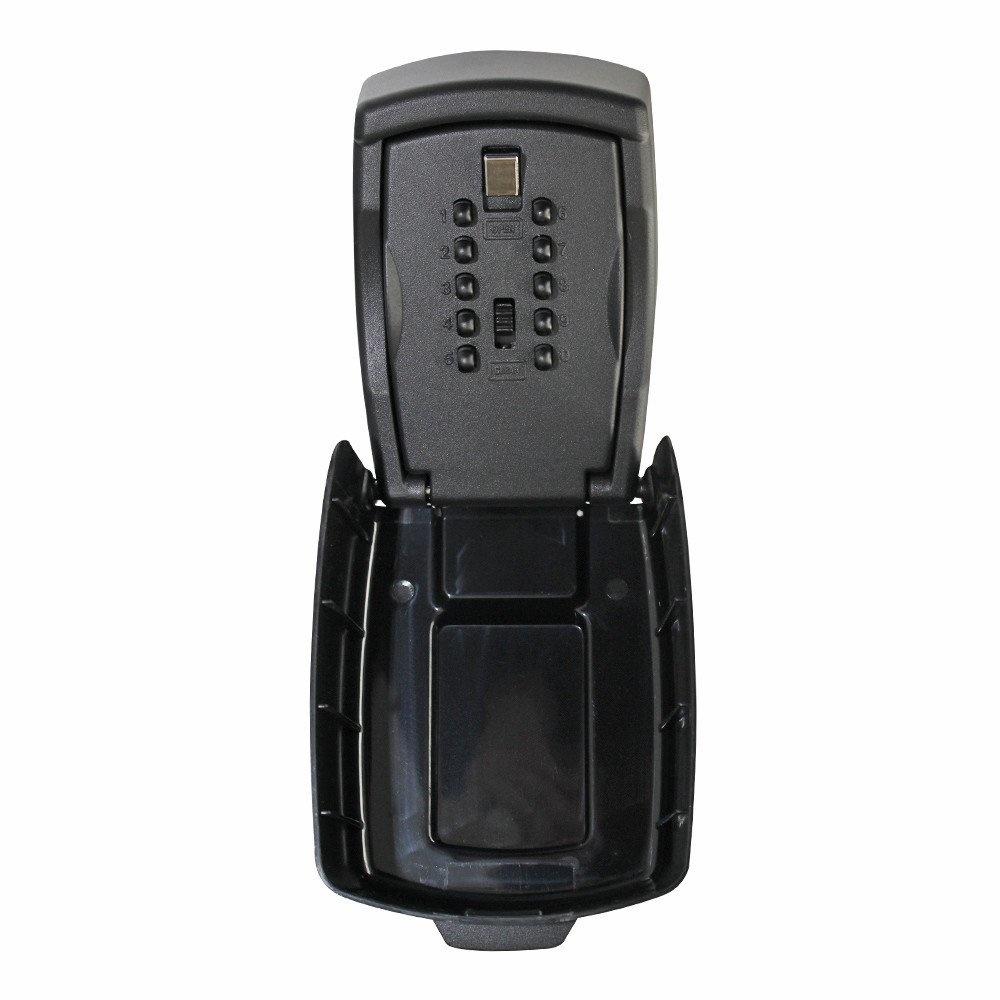 Sleutelkluis voor buiten Keykeeper XL - met code - Zwart