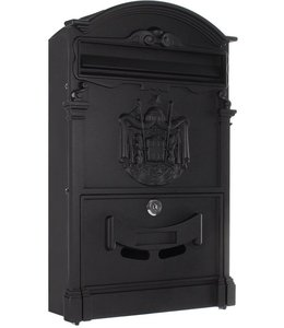 Rottner Tresor Engelse brievenbus Ashford - Zwart ***showroom model**