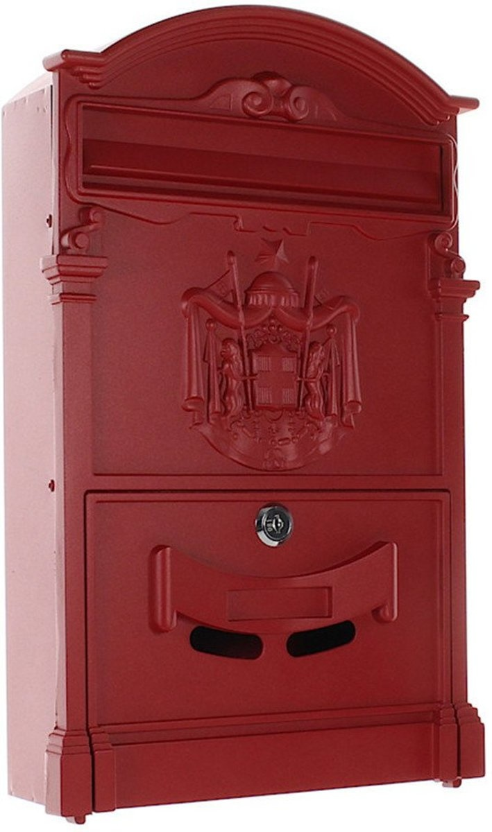 Engelse brievenbus Ashford - Rood - Second chance