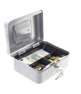 Rottner Tresor Geldkistje HomeStar Cash  2 - met handvat - Zilver