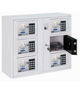 Rottner Tresor Multi kluis systeem Key System 6 - Wit