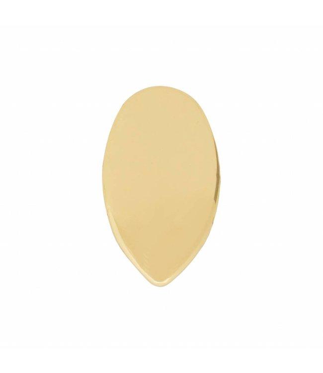 GrillzShop Gouden Vampier tanden set - gouden tand - 13x7 mm