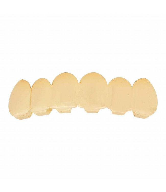 GrillzShop Grillz tanden - bovenkant - Goud - zelf op maat te maken